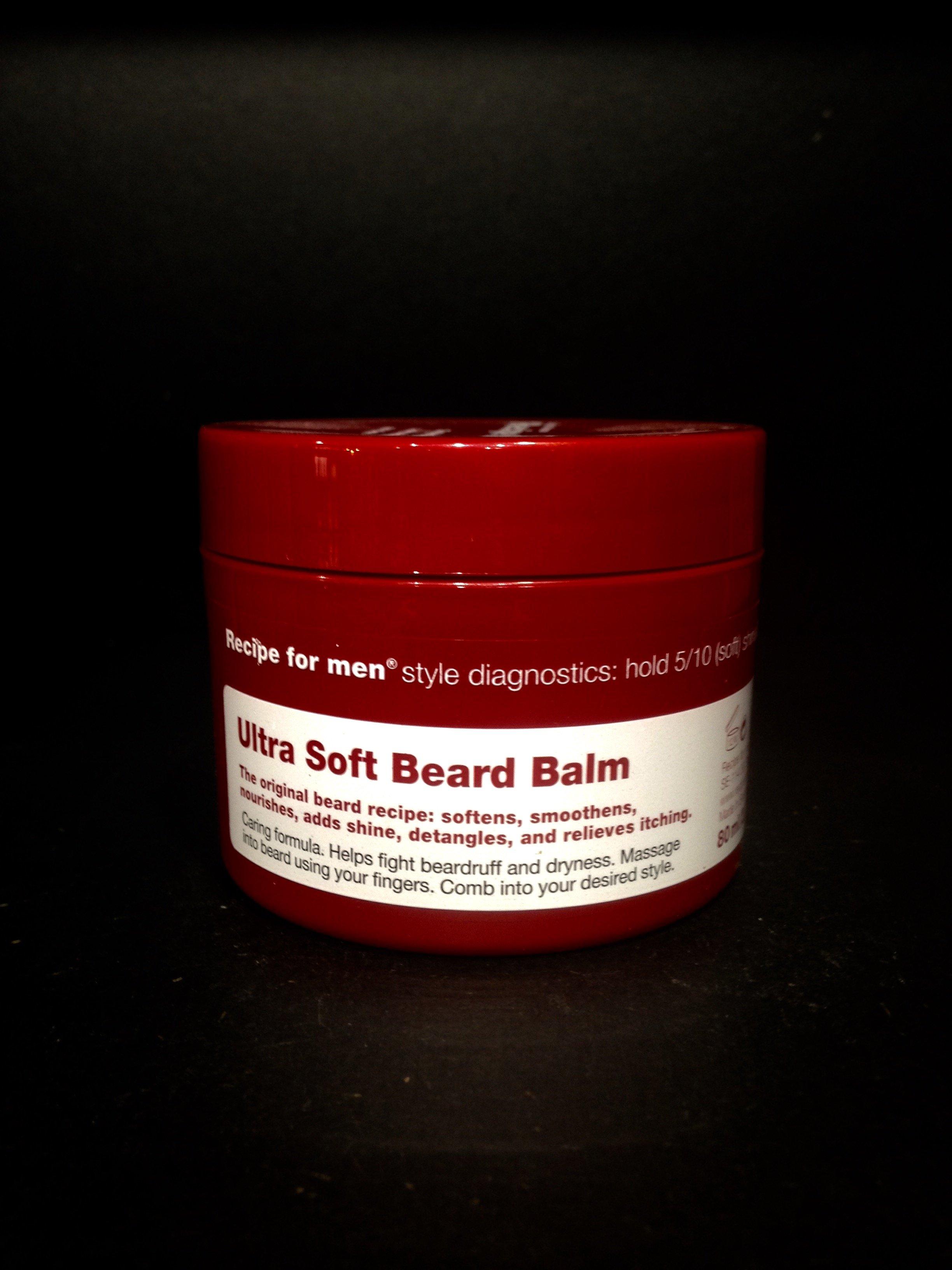 Recipe For Men Ultra Soft Beard Balm - Hobson   Quinn - Men s Grooming 8cf30a86fcd6f
